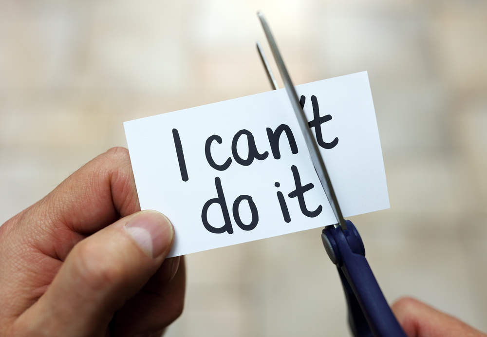 I can ('t) do it